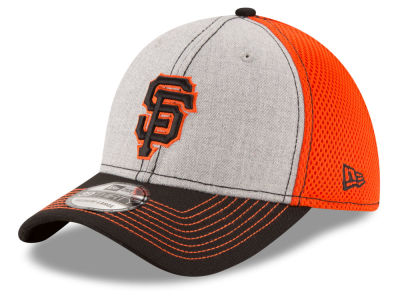 San Francisco Giants New Era MLB Youth Heathered Neo 39THIRTY Cap