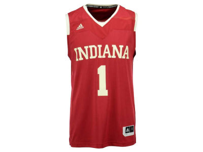 Indiana Hoosiers adidas NCAA Men's 2016 March Madness Replica Road Jersey