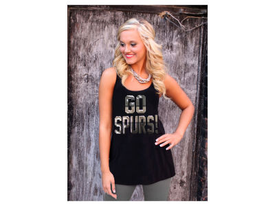 San Antonio Spurs Gameday Couture NBA Women's GO Tank Top