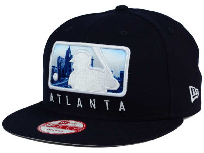 Atlanta Braves New Era MLB Batterman 9FIFTY Snapback Cap