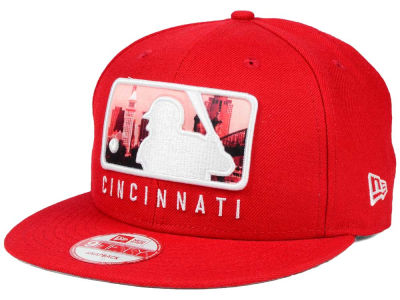 Cincinnati Reds New Era MLB Batterman 9FIFTY Snapback Cap