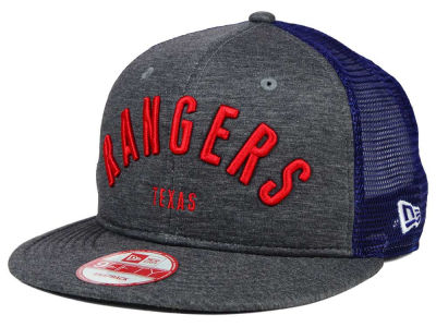 Texas Rangers New Era MLB City Mesh 9FIFTY Snapback Cap