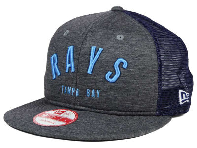 Tampa Bay Rays New Era MLB City Mesh 9FIFTY Snapback Cap