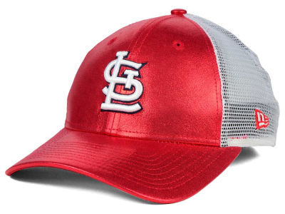 St. Louis Cardinals New Era MLB Women's Team Glimmer 9FORTY Cap