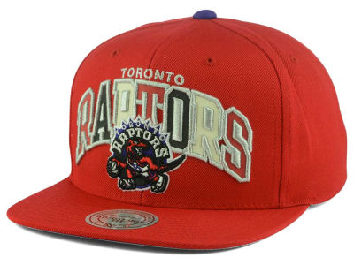 Toronto Raptors Mitchell and Ness NBA Reflective Tri Pop Snapback Cap