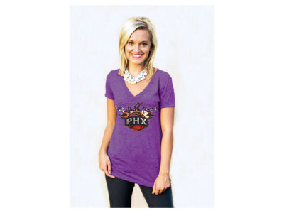 Phoenix Suns NBA Women's Sequin Shine T-Shirt