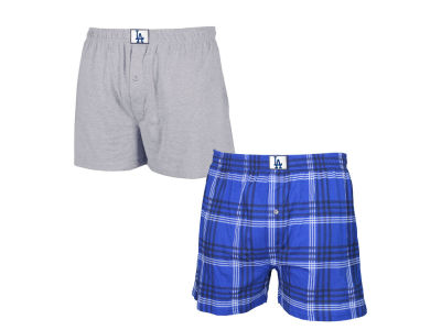 Los Angeles Dodgers MLB Men's Playoff 2-Pk Boxer Shorts