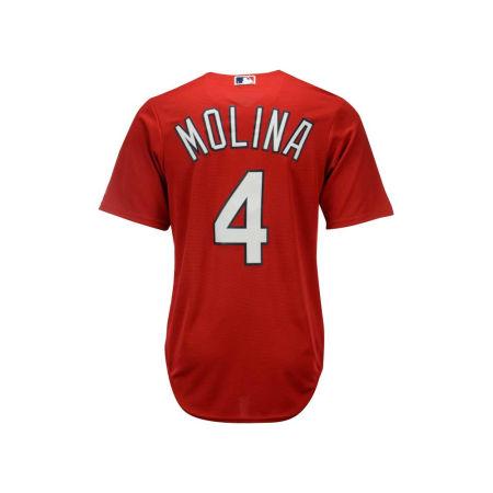 St. Louis Cardinals Yadier Molina Majestic MLB Men's Player Replica Cool Base Jersey