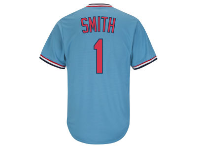 St. Louis Cardinals Ozzie Smith Majestic MLB Men's Cooperstown Player Replica CB Jersey