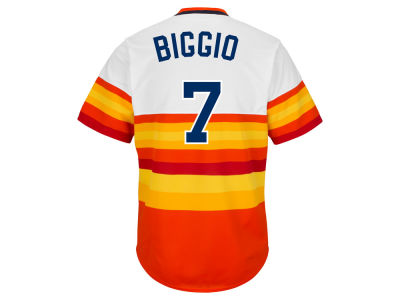 Houston Astros Craig Biggio Majestic MLB Men's Cooperstown Player Replica CB Jersey