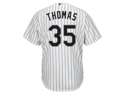 Chicago White Sox Frank Thomas Majestic MLB Men's Cooperstown Player Replica CB Jersey