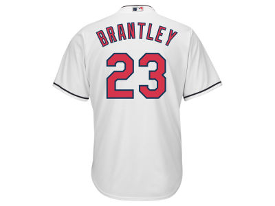 Cleveland Indians Michael Brantley Majestic MLB Men's Player Replica Cool Base Jersey