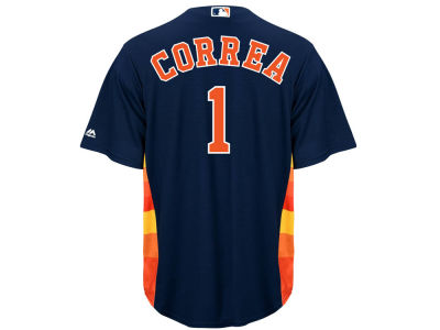 Houston Astros Carlos Correa Majestic MLB Men's Player Replica Cool Base Jersey