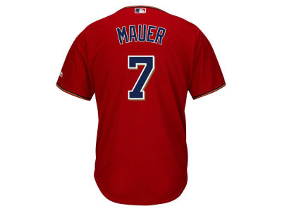 Minnesota Twins Joe Mauer MLB Men's Player Replica Cool Base Jersey