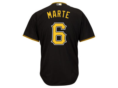 Pittsburgh Pirates Starling Marte MLB Men's Player Replica Cool Base Jersey