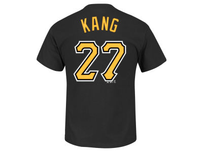 Pittsburgh Pirates Jung-Ho Kang Majestic MLB Men's Official Player T-Shirt