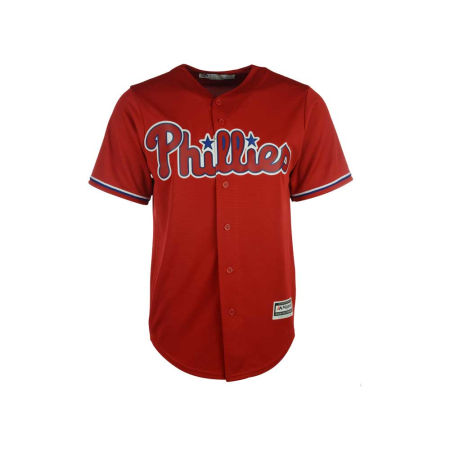Philadelphia Phillies Majestic MLB Men's Blank Replica Cool Base Jersey