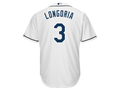 Tampa Bay Rays Evan Longoria Majestic MLB Men's Player Replica CB Jersey