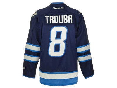 Winnipeg Jets Jacob Trouba Reebok NHL CN PT Premier Player Jersey
