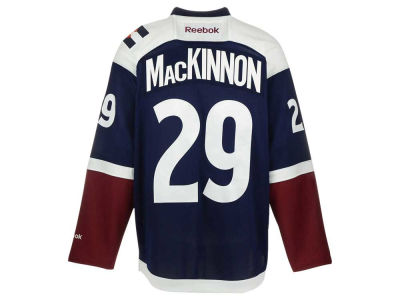 Colorado Avalanche Nathan MacKinnon Reebok NHL CN PT Premier Player Jersey