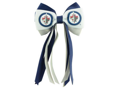 Winnipeg Jets Streamer Bow Mini