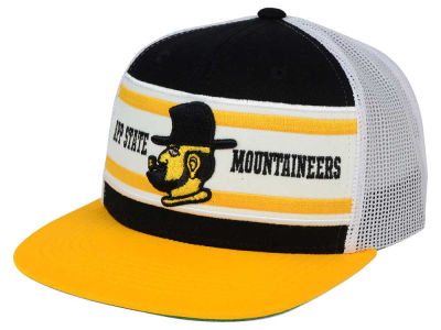 Appalachian State Mountaineers Top of the World NCAA Superstripe Snapback Cap