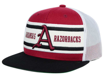 Arkansas Razorbacks Top of the World NCAA Superstripe Snapback Cap