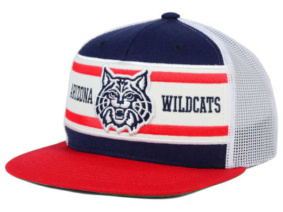 Arizona Wildcats Top of the World NCAA Superstripe Snapback Cap