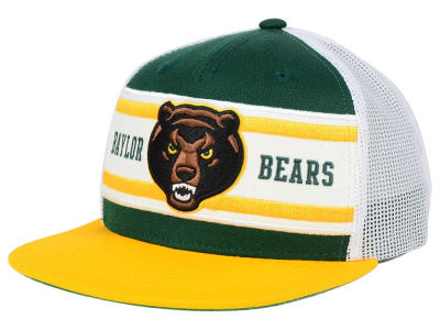 Baylor Bears Top of the World NCAA Superstripe Snapback Cap