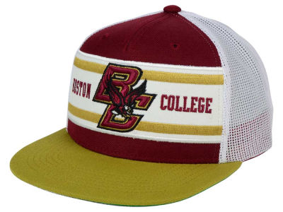 Boston College Eagles Top of the World NCAA Superstripe Snapback Cap