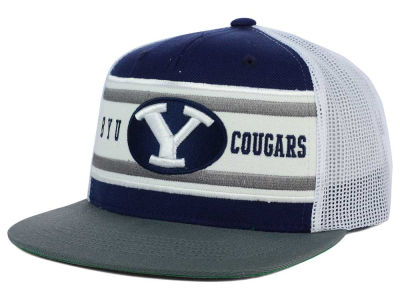 Brigham Young Cougars Top of the World NCAA Superstripe Snapback Cap