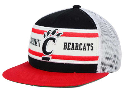 Cincinnati Bearcats Top of the World NCAA Superstripe Snapback Cap