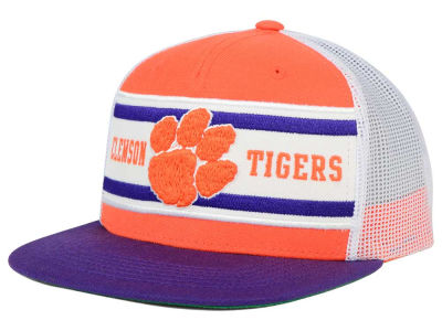Clemson Tigers Top of the World NCAA Superstripe Snapback Cap
