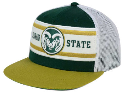 Colorado State Rams Top of the World NCAA Superstripe Snapback Cap