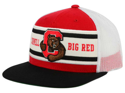 Cornell University Big Red Top of the World NCAA Superstripe Snapback Cap