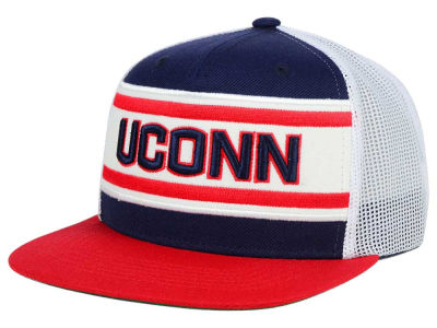 Connecticut Huskies Top of the World NCAA Superstripe Snapback Cap