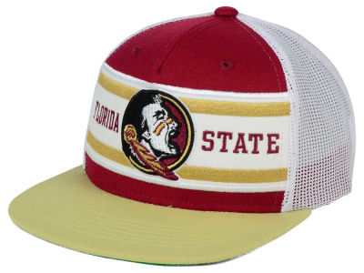 Florida State Seminoles Top of the World NCAA Superstripe Snapback Cap