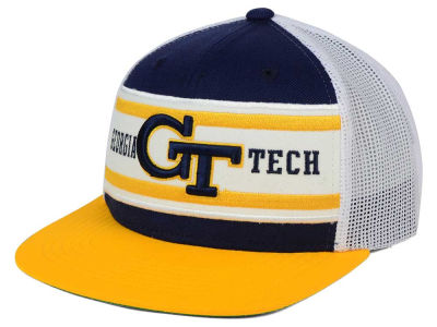 Georgia-Tech Top of the World NCAA Superstripe Snapback Cap