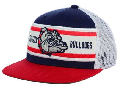 Gonzaga Bulldogs Top of the World NCAA Superstripe Snapback Cap