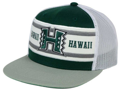 Hawaii Warriors Top of the World NCAA Superstripe Snapback Cap