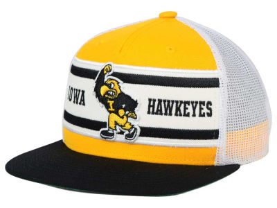 Iowa Hawkeyes Top of the World NCAA Superstripe Snapback Cap