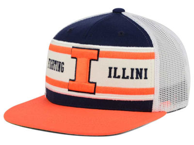 Illinois Fighting Illini Top of the World NCAA Superstripe Snapback Cap