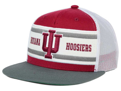 Indiana Hoosiers Top of the World NCAA Superstripe Snapback Cap