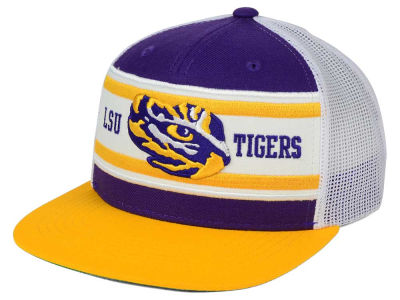 LSU Tigers Top of the World NCAA Superstripe Snapback Cap