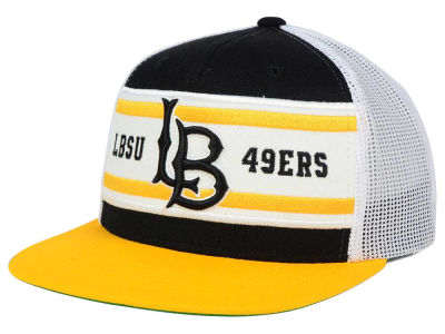 Long Beach State 49ers Top of the World NCAA Superstripe Snapback Cap