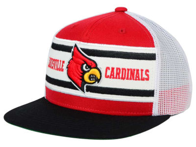 Louisville Cardinals Top of the World NCAA Superstripe Snapback Cap