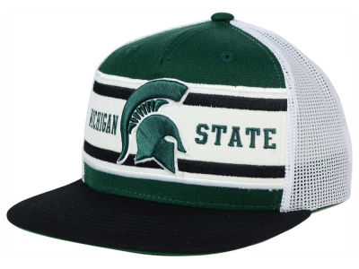 Michigan State Spartans Top of the World NCAA Superstripe Snapback Cap
