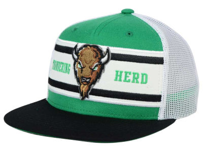 Marshall Thundering Herd Top of the World NCAA Superstripe Snapback Cap