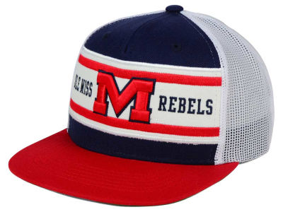 Ole Miss Rebels Top of the World NCAA Superstripe Snapback Cap