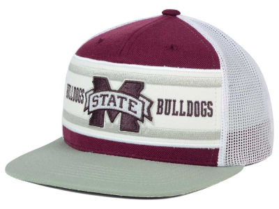Mississippi State Bulldogs Top of the World NCAA Superstripe Snapback Cap